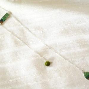 mosaico ravenna collana-New-York-degradé-verde