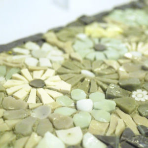 mosaico ravenna prato-fiorito-grigi-acqua