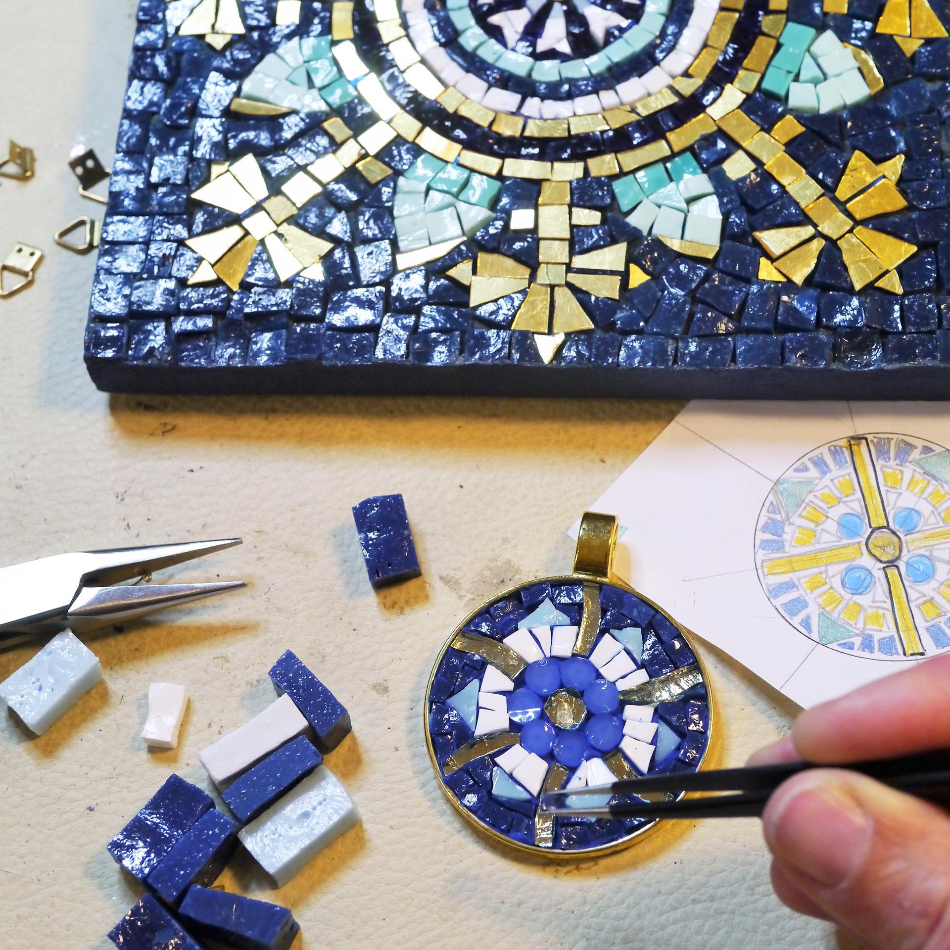 Barbara Liverani Studio mosaico ravenna