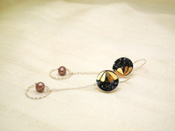 orecchini-Bilbao-nero-bronzo